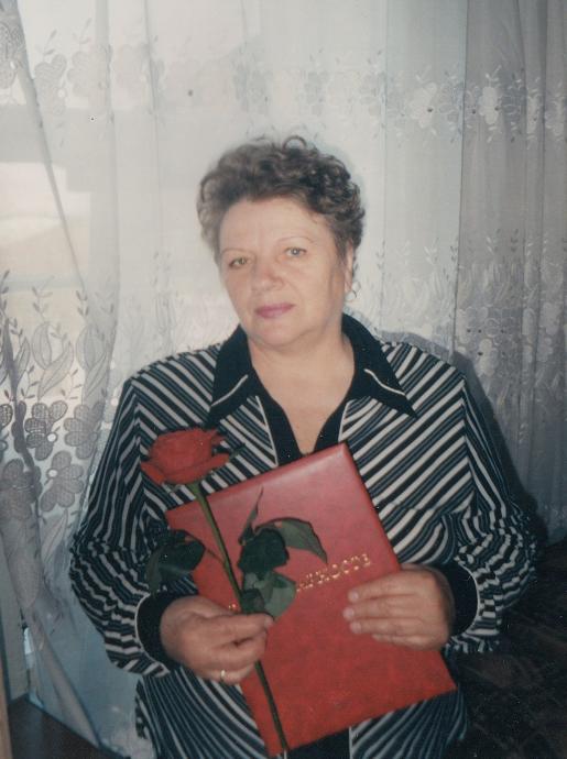 Нина Александровна Балашова (Лобанова)